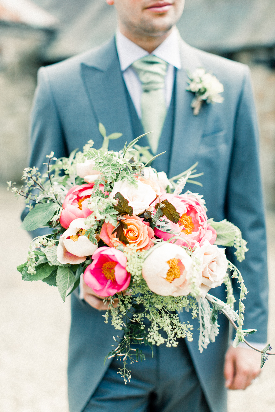 Jordans Courtyard rustic wedding styling ideas with images by Liz Baker Photography (39)