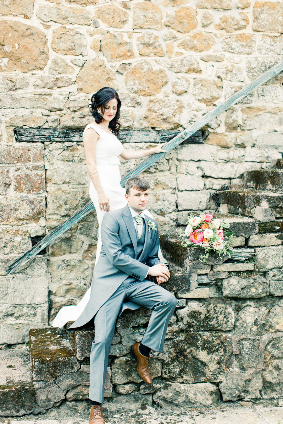 Jordans Courtyard rustic wedding styling ideas with images by Liz Baker Photography (41)