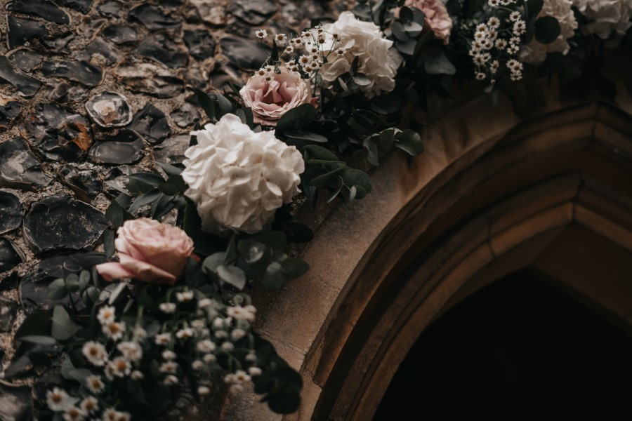 Real couple Daniel & Lorena Essex countryside boho wedding ideas (6)
