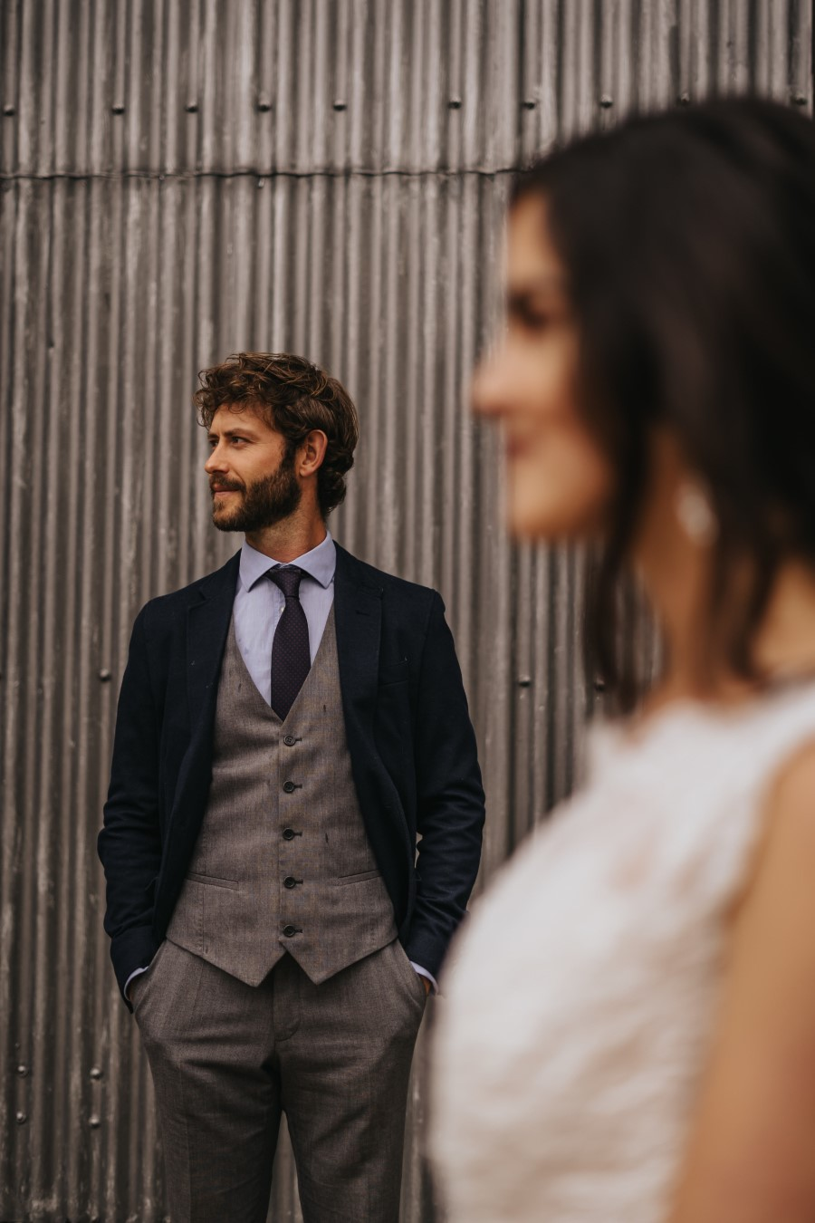 Real couple Daniel & Lorena Essex countryside boho wedding ideas (21)
