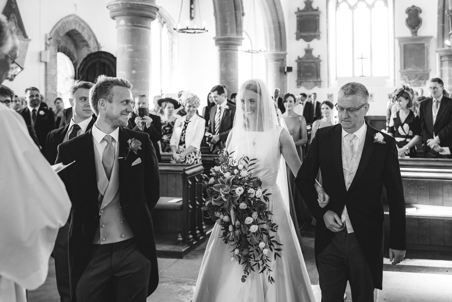A quintessentially English marquee wedding with a handmade dress! Photo credit Ben Davis Photography (12)