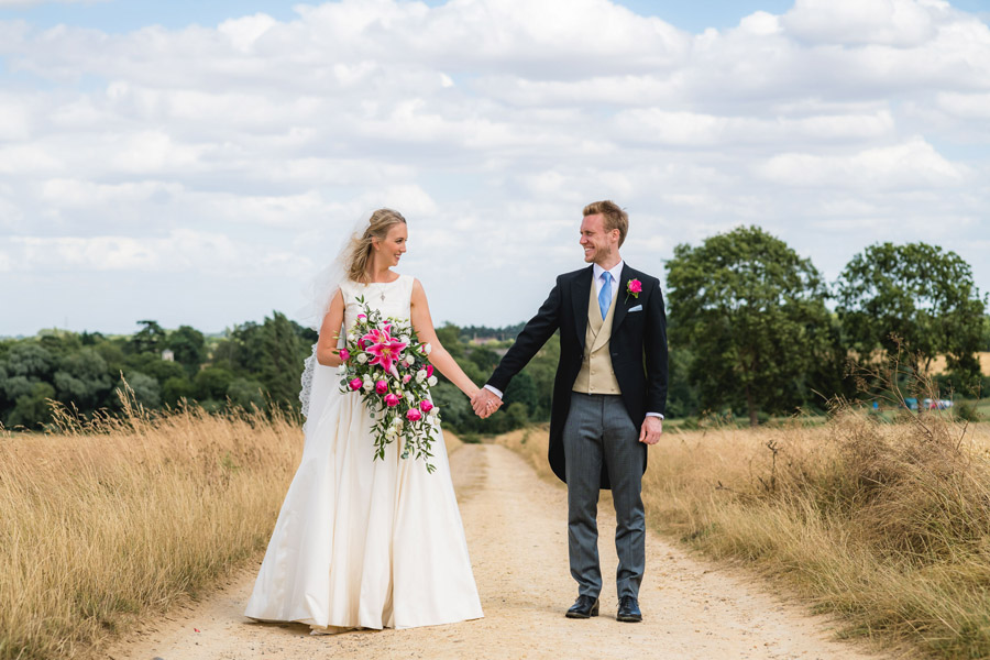 A quintessentially English marquee wedding with a handmade dress! Photo credit Ben Davis Photography (15)