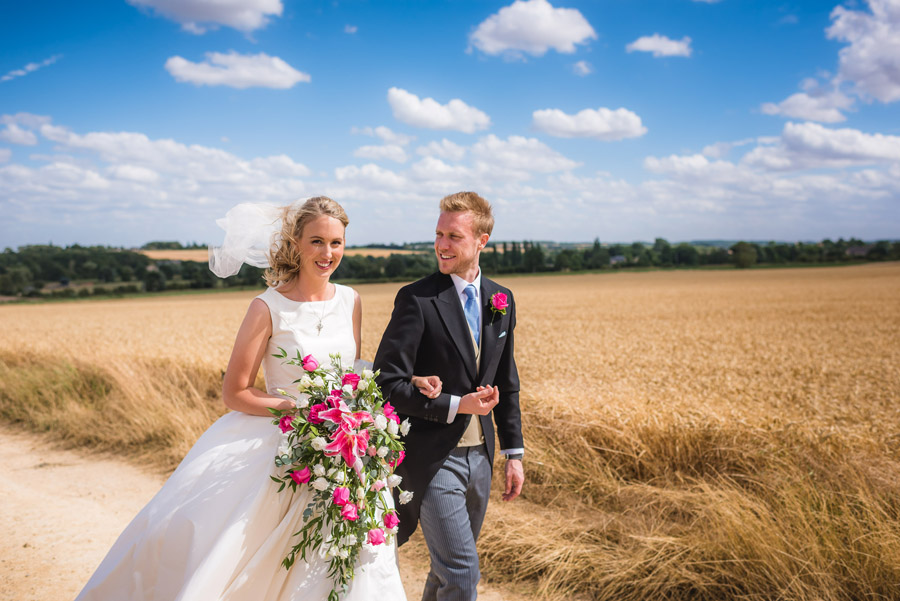 A quintessentially English marquee wedding with a handmade dress! Photo credit Ben Davis Photography (16)