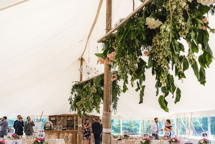 A quintessentially English marquee wedding with a handmade dress! Photo credit Ben Davis Photography (24)