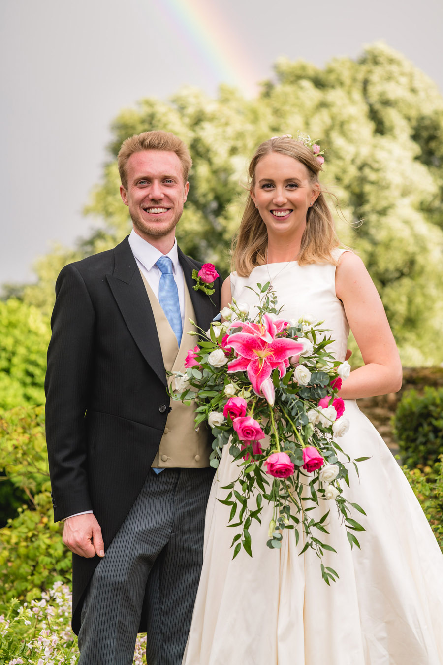 A quintessentially English marquee wedding with a handmade dress! Photo credit Ben Davis Photography (33)