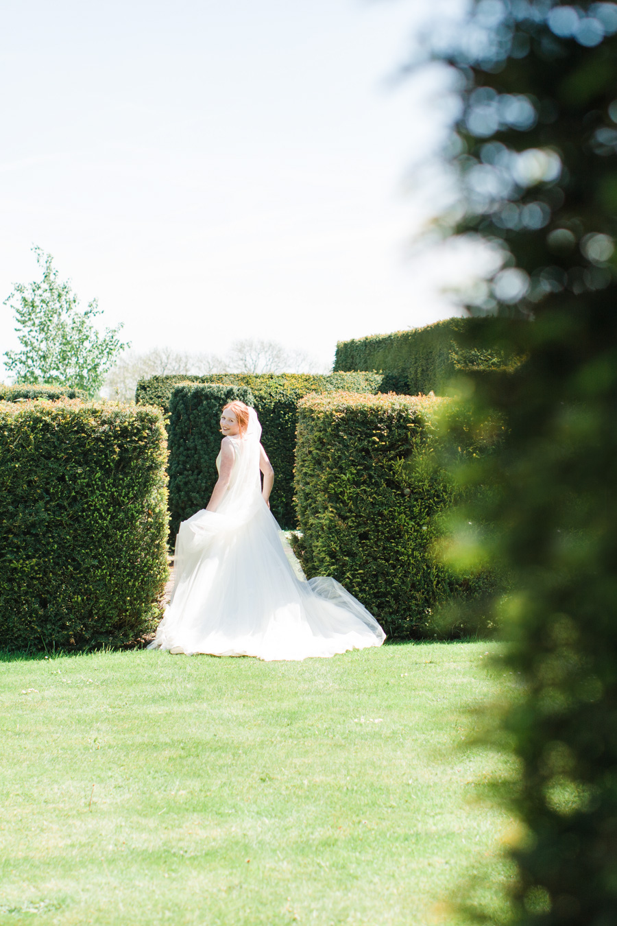 Divine wedding styling with English country garden florals at Pauntley Court, photo credit Red Maple Photography (16)