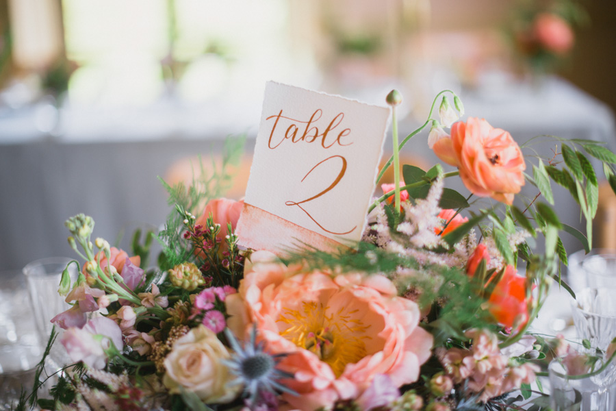 Divine wedding styling with English country garden florals at Pauntley Court, photo credit Red Maple Photography (26)