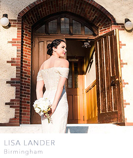 Birmingham wedding photographer Lisa Lander