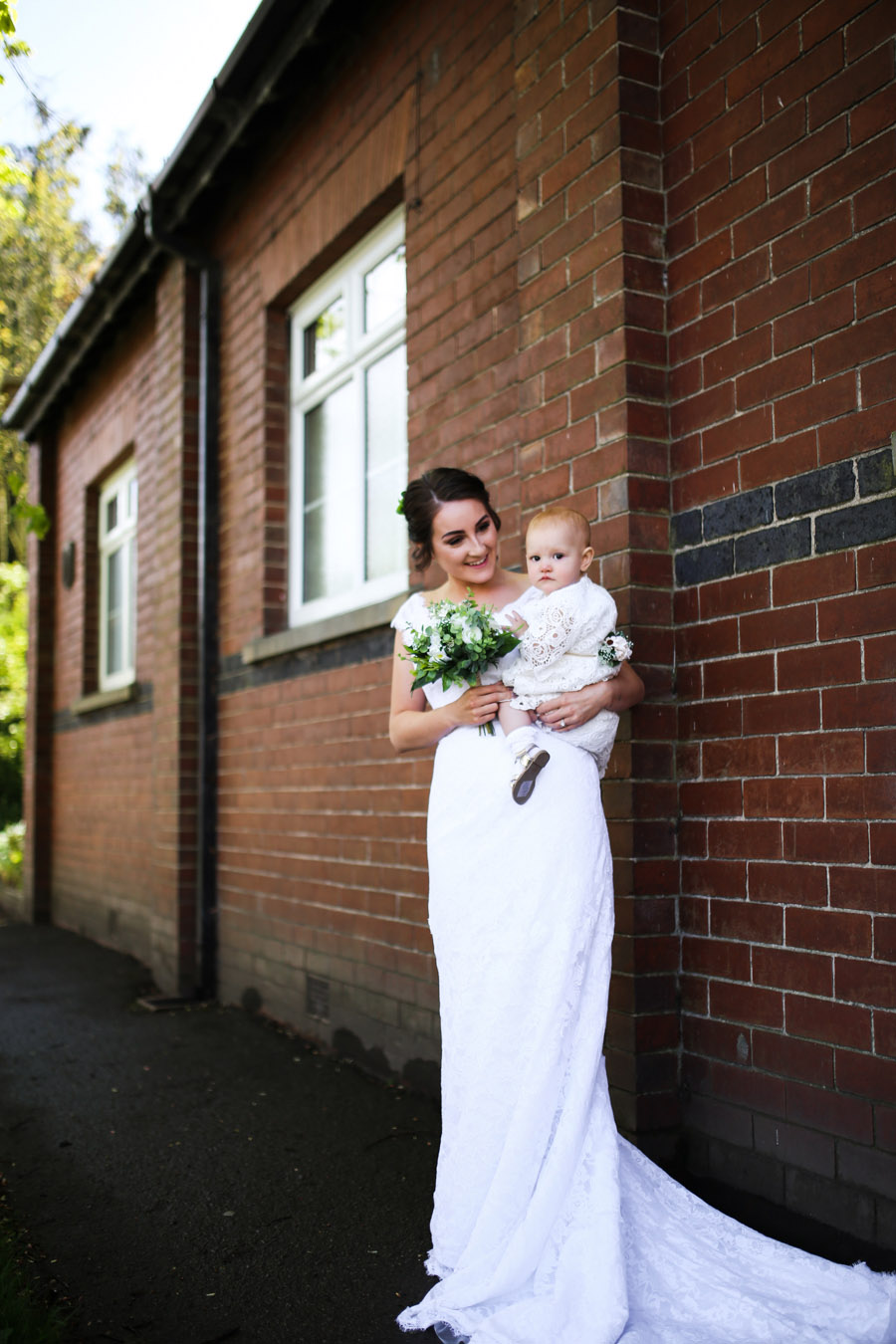Jade and Carl surprised their christening guests with a WEDDING! Images by Anoif Photography on English-Wedding.com (8)