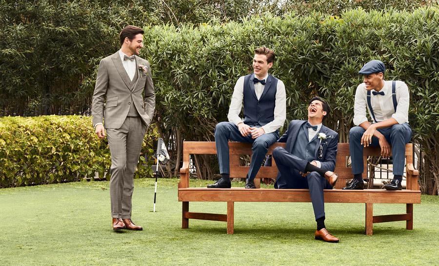 modern grooms wear