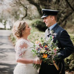 Claire and Andy's rustic Trevenna Barns wedding, with Alexa Poppe Photography