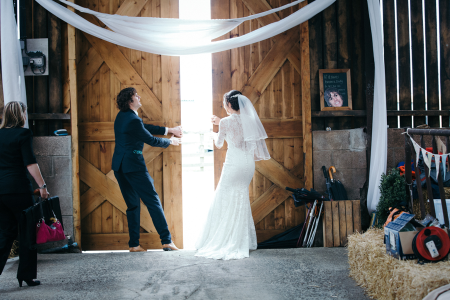 Barn on the Bay modern wedding full of ideas - photo credit Forget Me Knot Images (17)