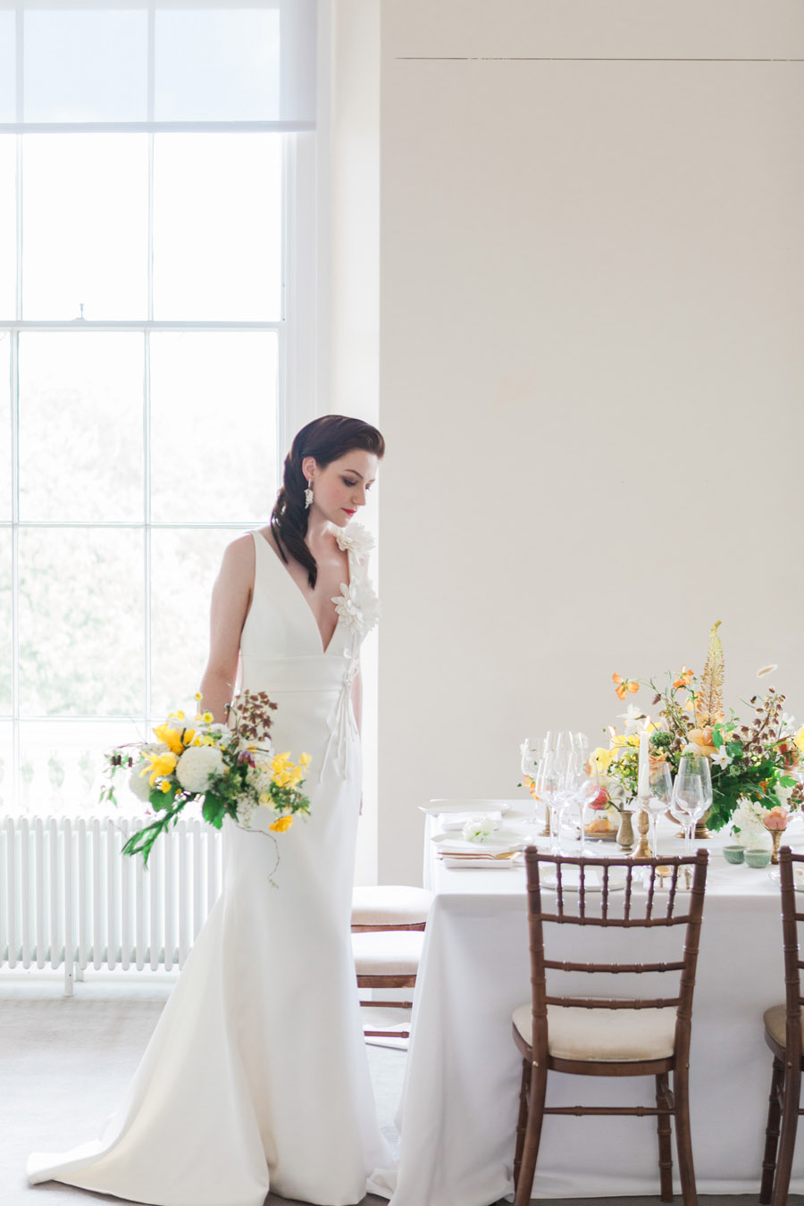 Glorious yellow Bloomologie blooms and styling by Chenai - photo credit Amanda Karen Photography (21)