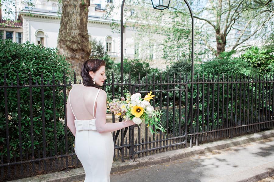 Glorious yellow Bloomologie blooms and styling by Chenai - photo credit Amanda Karen Photography (28)