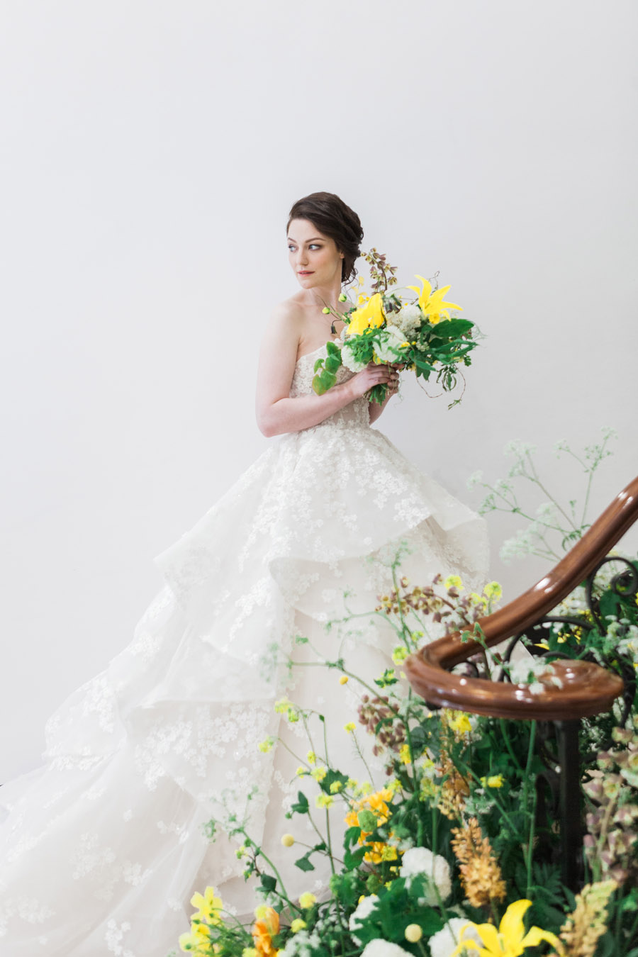 Glorious yellow Bloomologie blooms and styling by Chenai - photo credit Amanda Karen Photography (6)