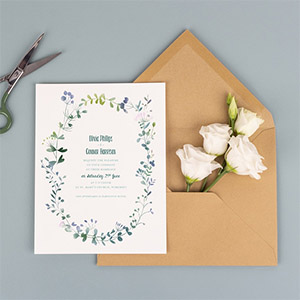 Atelier Rosemood UK wedding stationery