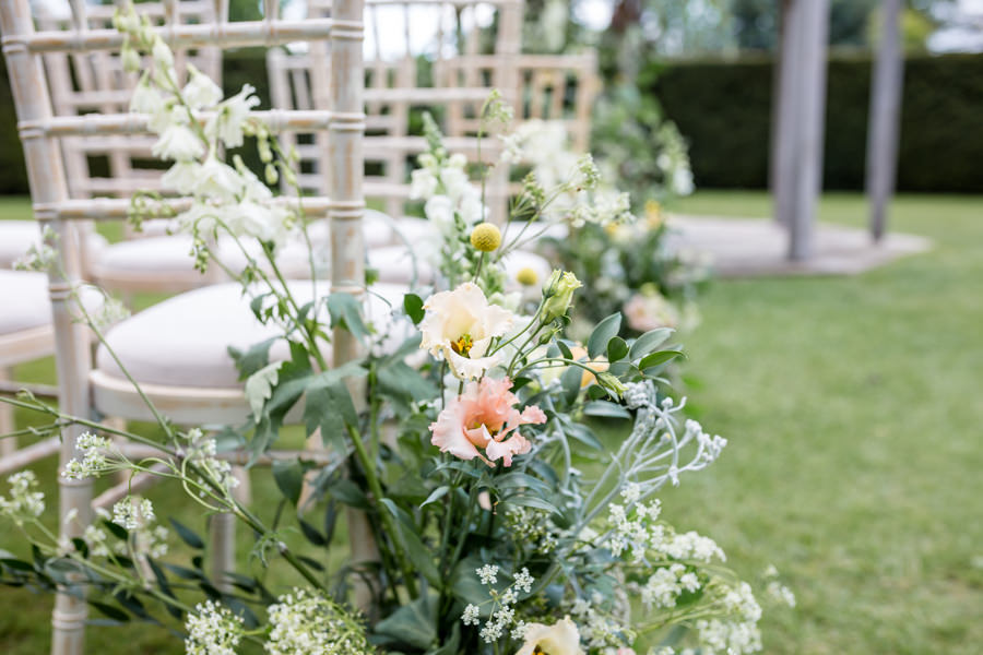 Boho luxe wedding style with soft orange and muted tones at Chippenham, image credit Heather Jackson Photography (8)
