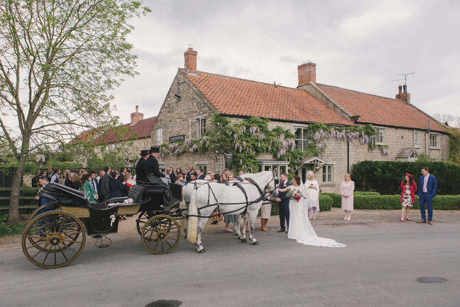 A beautiful quintessentially English wedding in Helmsley with images by Lissa Alexandra Photography (27)