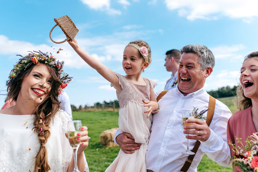 brilliant proof that kids at weddings is a huge win! Photo credit Jordanna Marston Photography (13)