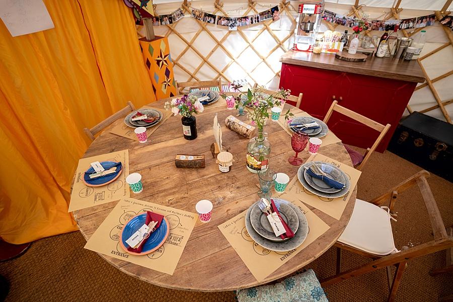 Matt and Rosanna's yurt wedding in Dorset with Linus Moran Photography (5)