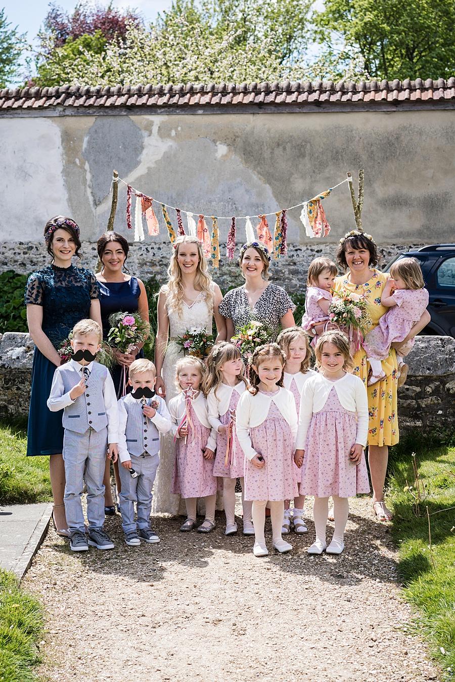 Matt and Rosanna's yurt wedding in Dorset with Linus Moran Photography (18)