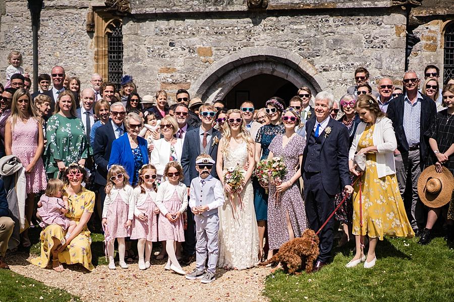 Matt and Rosanna's yurt wedding in Dorset with Linus Moran Photography (23)