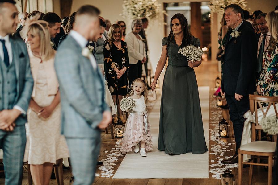 Laura & Dan's beautifully elegant wedding at Mill Barns Alveley, image credit Stott Weddings (10)