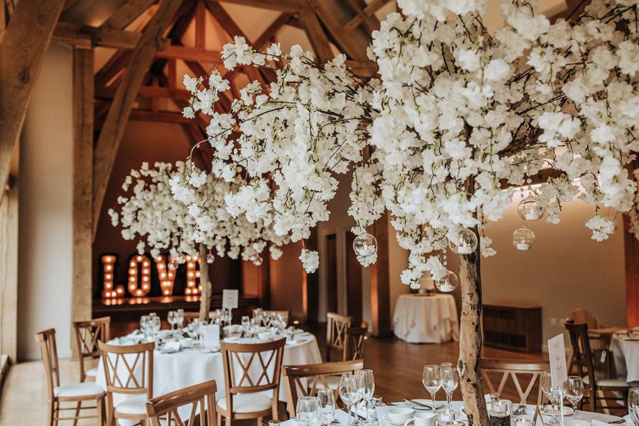 Laura & Dan's beautifully elegant wedding at Mill Barns Alveley, image credit Stott Weddings (17)