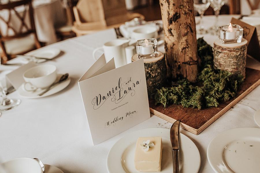 Laura & Dan's beautifully elegant wedding at Mill Barns Alveley, image credit Stott Weddings (19)