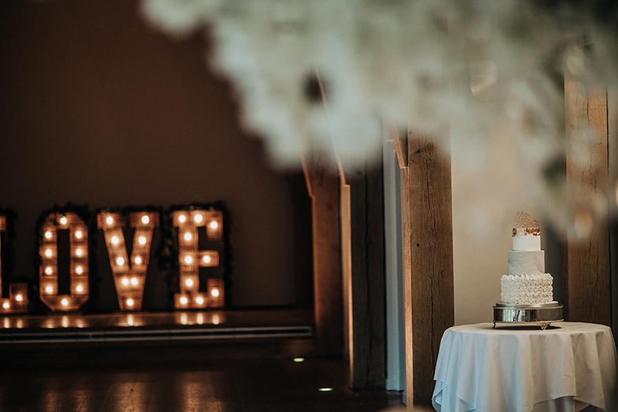 Laura & Dan's beautifully elegant wedding at Mill Barns Alveley, image credit Stott Weddings (20)