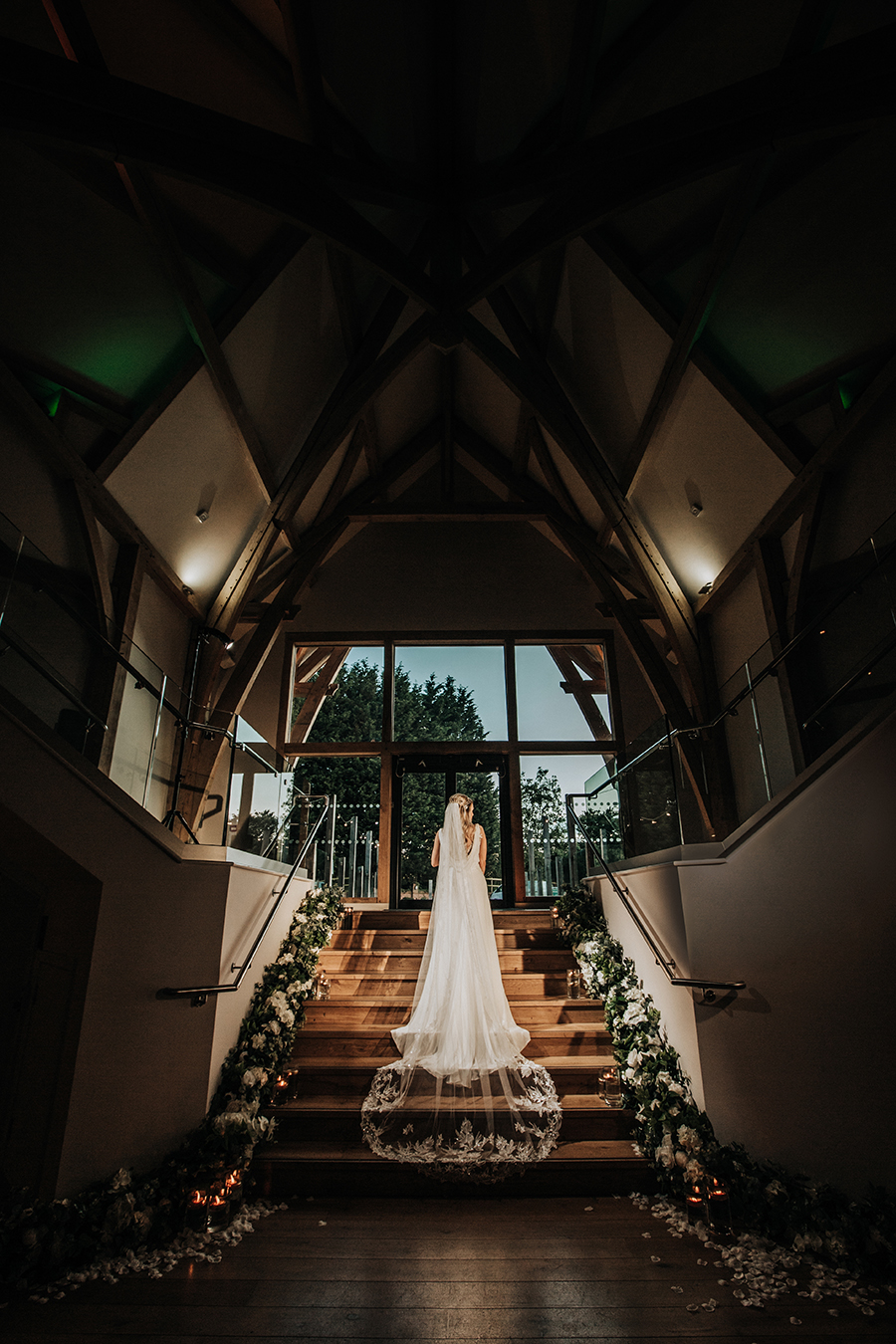 Laura & Dan's beautifully elegant wedding at Mill Barns Alveley, image credit Stott Weddings (39)