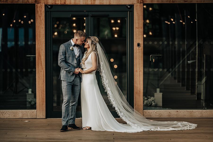 Laura & Dan's beautifully elegant wedding at Mill Barns Alveley, image credit Stott Weddings (42)