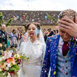 Beautifully Imperfect Wedding Photos for non-Princessy Brides