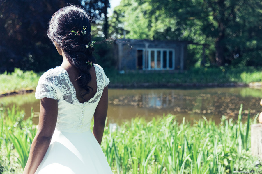 Beautiful wedding dresses in the free-spirited Matara wedding venue - photo credit Sally Anne Photography (24)