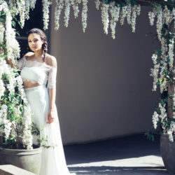 3 boho bridal styles from the Matara Centre, with Photography by Sally-Anne