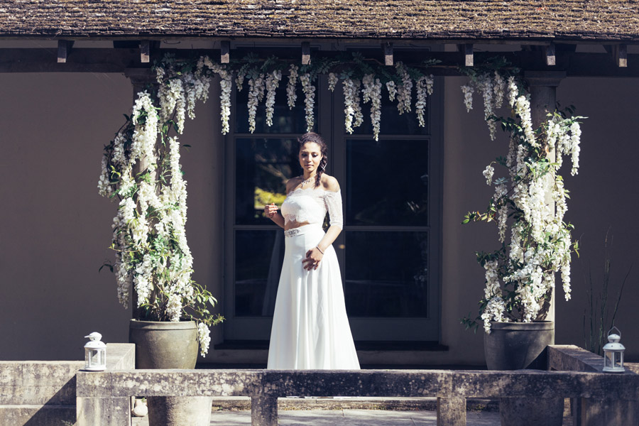 Beautiful wedding dresses in the free-spirited Matara wedding venue - photo credit Sally Anne Photography (34)