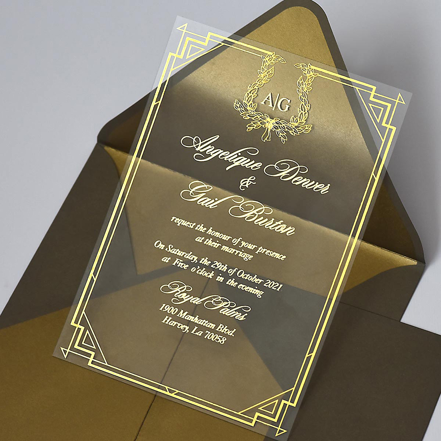 luxuy wedding invitations by Polina Perri on the English Wedding Blog (10)