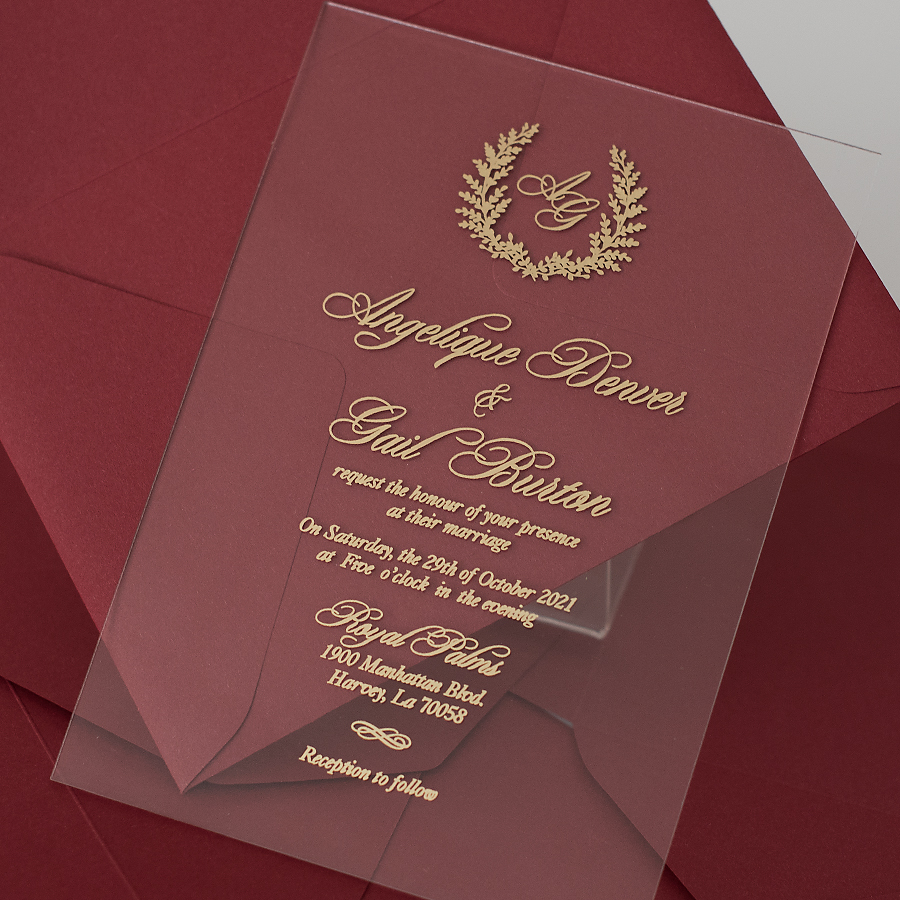 luxuy wedding invitations by Polina Perri on the English Wedding Blog (7)