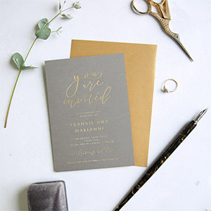 wedding invitations UK by Elizabeth Tyrer Designs