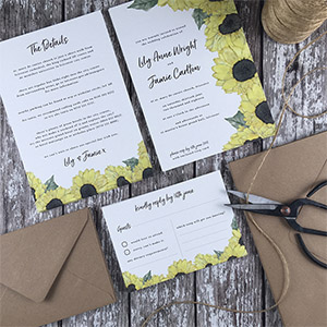 wedding stationery by Newport Street Paper Co