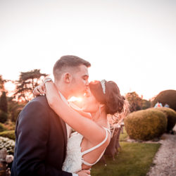 Serena & Michael's glamorous summer wedding with Nicholas Rogers Photography