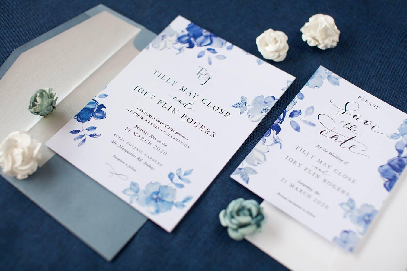Paperlust elegant wedding invitations
