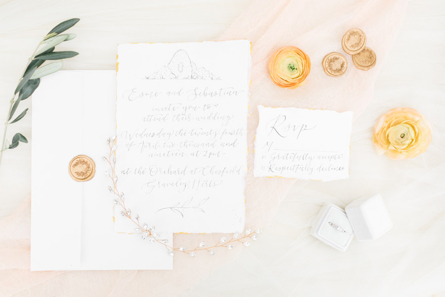 Romantic ethereal wedding styling ideas with Natalie Stevenson Photography (2)