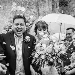 Emma and Alex's beautiful summer wedding at Athelhampton House, with Linus Moran Photography