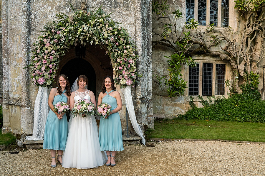 Beautiful Athelhampton House wedding photography with Linus Moran on the English Wedding Blog (40)