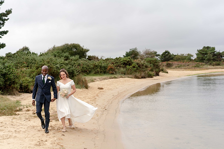 Jade and Gboyega romantic elopement photography in Dorset (34)
