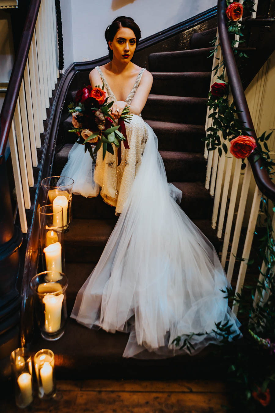 Dramatic and alternative wedding ideas on English-Wedding.com with Danny Inwood Photography (23)