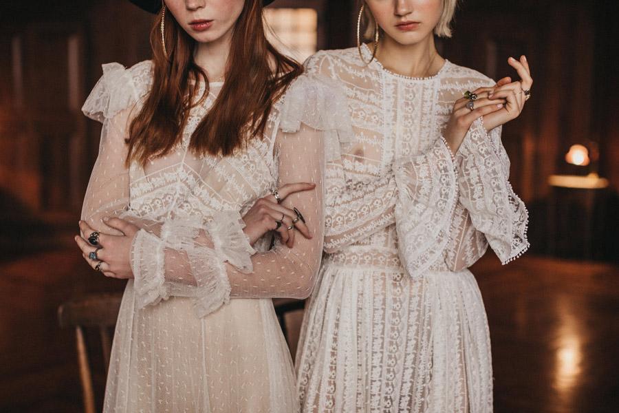 Haute couture bohemian bride - Immaclé