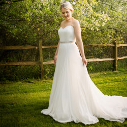 James and Nikki's pretty spring barn wedding with Terence Joseph Photography