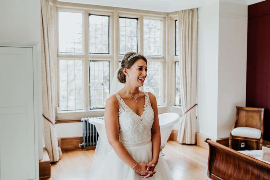 Charlotte and Dexter's minimal and elegant Coombe Lodge wedding, image credit Ryan Goold Photography (12)